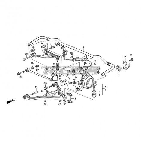Honda S2000 Rear Suspension Diagram 3 kenmo lp de