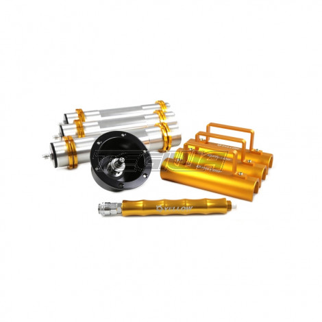 YELLOW SPEED RACING YSR AIR JACK 3 POINT WITH CONNECTOR VALVE
