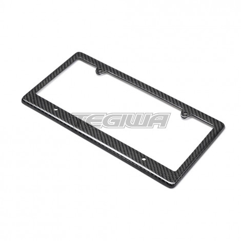 Seibon Carbon Fibre License Plate Frame - 4-hole