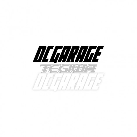 DC GARAGE OFFICIAL STICKER DECAL 20CM