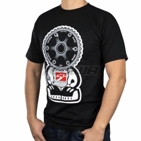 Skunk2 Black Series Gear Headz Men's T-Shirt Black