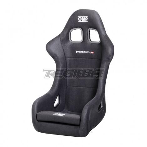 OMP HA/790 FIRST-R FIBREGLASS SHELL RACE BUCKET SEAT BLACK