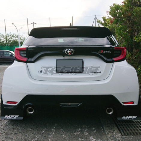 MFF Mud Flap Set Carbon Design Toyota GR Yaris 20+