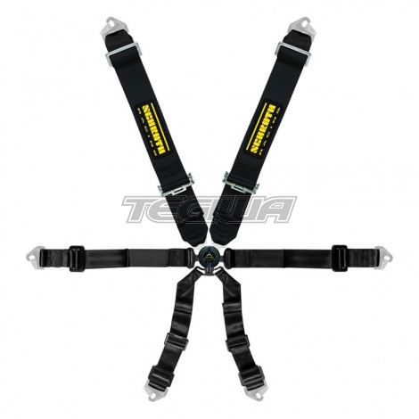 SCHROTH CLUBMAN 3X2 6 POINT HARNESS