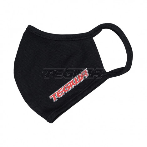 Tegiwa Classic Logo Face Covering Cloth Mask Black