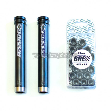 Speedsocket Team Pack - 2 Speedsocket Tools with 20 Compatible Nuts