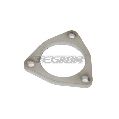 "TEGIWA 2.5"" 3 BOLT STAINLESS STEEL TRIANGLE EXHAUST FLANGE"