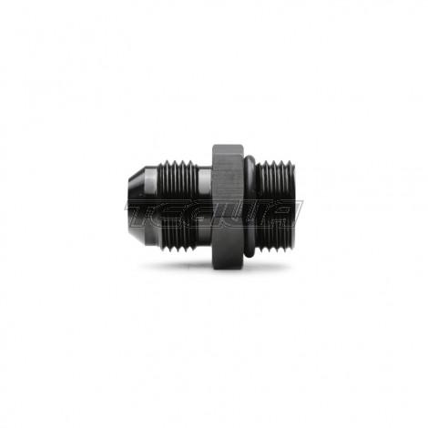 "Tegiwa Black AN -8 (AN8 AN 08) to ORB-8 (3/4"" UNF) O-Ring Boss Adapter Black"