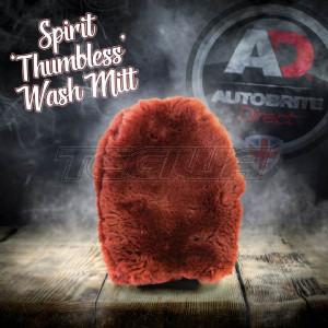 Autobrite The Spirit - Luxury Lambswool Non-Thumbed Wash Mitt