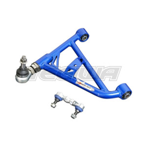HARDRACE ADJUSTABLE REAR LOWER CONTROL ARM V2 WITH SPHERICAL BEARINGS 2PC SET NISSAN 200SX S14 SILVIA S15