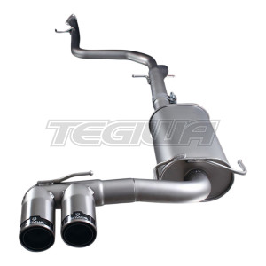 Remus Non-Resonated Cat Back System Centred With 253111 5584C Tips Honda CR-Z ZF1 1.5 Hybrid 10-