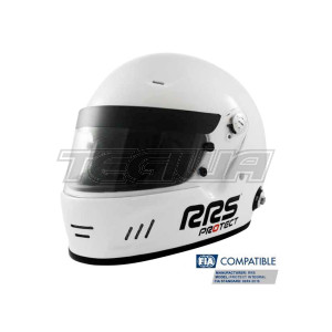 RRS Protect Full Face Circuit Helmet Fia 8859-2015