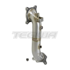 AFE TAKEDA TWISTED STEEL DECAT DOWN-PIPE RACE SERIES HONDA CIVIC TYPE R 17+