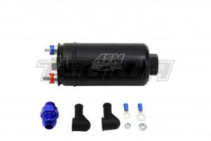 AEM 400LPH Inline High Flow Fuel Pump 400LPH@43PSI 270LPH@120PSI -10An Inlet & -6AN Outlet