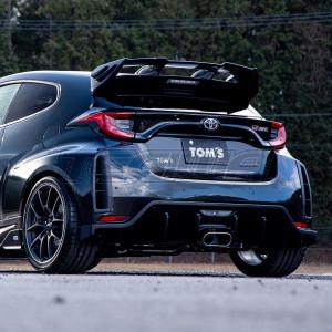 TOM'S Rear Bumper Under Diffuser Toyota Yaris GR 20+