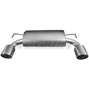 Remus Rear Silencer Left/Right With 608609 1585S Tips Nissan 370Z Z34 3.7 10-