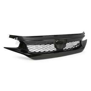 Genuine Honda OEM 2020 Front Grill Gloss Black Civic Type R FK8