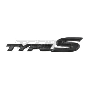 GENUINE HONDA BLACK REAR TYPE S BADGE JDM S2000 AP2