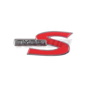 GENUINE HONDA TYPE S BADGE EMBLEM ACCORD CL9