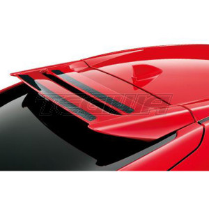 MUGEN REAR TAILGATE UPPER SPOILER HONDA CIVIC TYPE R FK8 17+ FLAME RED