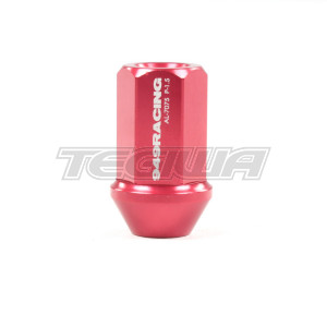 949 RACING FORGED ALLOY LUG NUT M12X1.50 RED X1