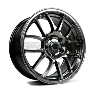 949 RACING 6UL ALLOY WHEEL 17 X 9 TUNGSTEN 4X100 ET45