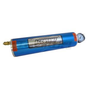 "Accusump Oil Pressure Accumulator 6 Pint (3qt) 16"" long"