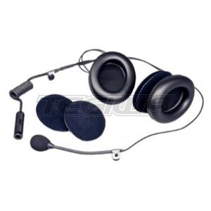 Stilo Open Face helmets intercom kit - With earmuffs - WRC electronics