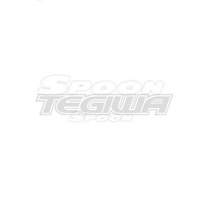 SPOON SPORTS TEAM STICKER WHITE 200MM