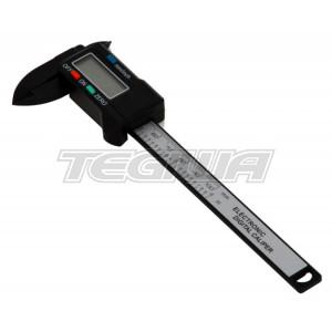 BG Racing Carbon Fibre 100mm Digital Caliper/Vernier