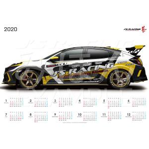 J's Racing 2020 Poster Calendar