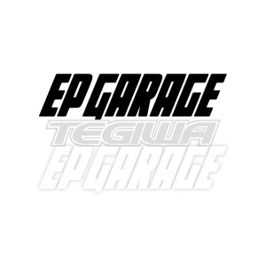 EP GARAGE OFFICIAL STICKER DECAL 50CM