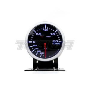 DEPO RACING 60MM BOOST GAUGE -1BAR-2BAR