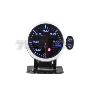 DEPO RACING FUEL PRESSURE BAR STEPPER MOTOR GAUGE PEAK 60MM