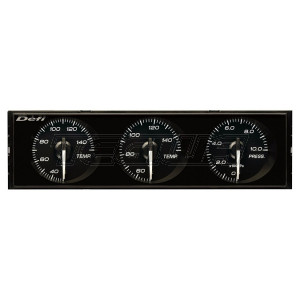 DEFI RHD DIN GAUGES WHITE