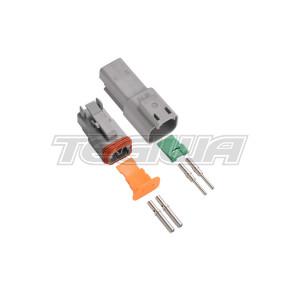 DEUTSCH CONNECTOR KIT DT SERIES 2 WAY ELECTRICAL SEALED CONNECTORS