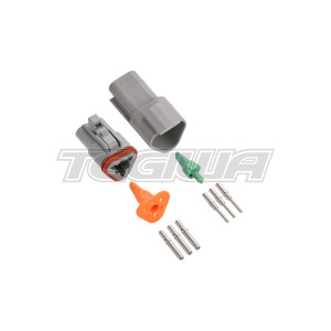 DEUTSCH CONNECTOR KIT DT SERIES 3 WAY ELECTRICAL SEALED CONNECTORS