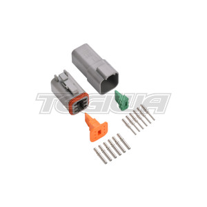 DEUTSCH CONNECTOR KIT DT SERIES 6 WAY ELECTRICAL SEALED CONNECTORS