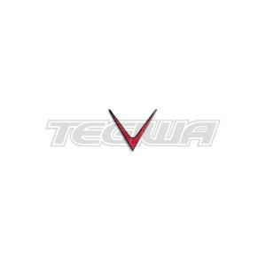 Eventuri Red V Badge Emblem