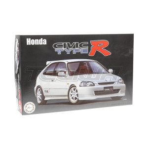 Fujimi 1:24 Scale Honda Civic EK9 Type R Pre-Facelift Model Kit #552P With Tamiya Glue