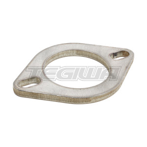 "TEGIWA 2.5"" 2 BOLT STAINLESS STEEL OVAL EXHAUST FLANGE"