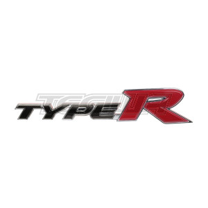 GENUINE HONDA REAR TYPE R BADGE CIVIC TYPE R FN2 FD2 07-11