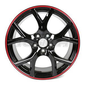 "GENUINE HONDA 19"" ALLOY WHEEL BLACK CIVIC TYPE R FK2 FK8"
