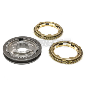 GENUINE HONDA K-SERIES 5TH-6TH SLEEVE HUB SET WITH BRASS SYNCHROS