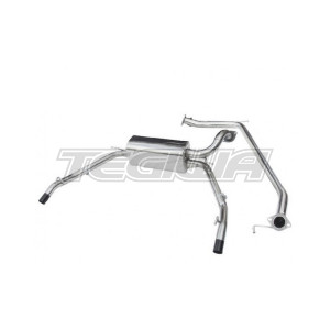 COBRA CAT BACK EXHAUST SYSTEM NON-RESONATED HONDA CIVIC TYPE R FN2 07-11