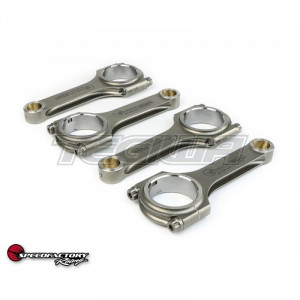 SPEEDFACTORY RACING FORGED STEEL H BEAM CONNECTING RODS - B18C