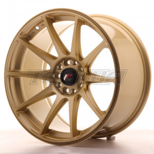 Japan Racing JR11 Alloy Wheel 18x9.5 - 5x108 / 5x100 - ET30 - Gold