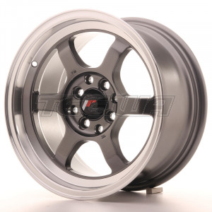 Japan Racing JR12 Alloy Wheel 15x7.5 - 4x100 / 4x108 - ET26 - Gun Metal