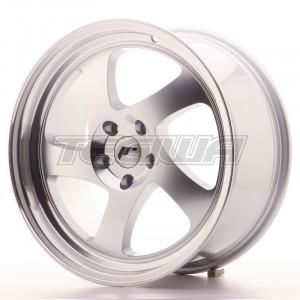 Japan Racing JR15 Alloy Wheel 18x8.5 - 5x112 - ET40 - Machined Silver
