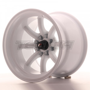 Japan Racing JR19 Alloy Wheel 15x10.5 - 4x100 / 4x114.3 - ET-32 - White
